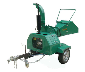 Mobile Diesel Engine Mechanical Chipper