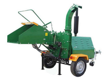 Mobile Diesel Engine Hydraulic Chipper